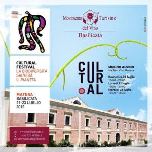 Saremo presenti dal 21 al 23 luglio a Cultural Festival a Matera! Vi aspettiamo per degustare i nostri vini! #martinovini